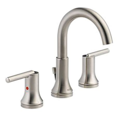 Delta Trinsic Widespread Bath Faucet by Delta 3559 Ssmpu Dst Trinsic 8 In Widespread 2 Handle
