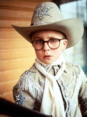 """19 best quotes from a christmas story. """"Randy lay there on the ground like a slug. It was his only defense."""" 