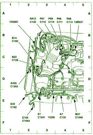 ford circuit wiring diagrams