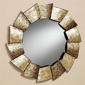 large metal framed mirrors wall mirror with gold frame With mirror wall decor