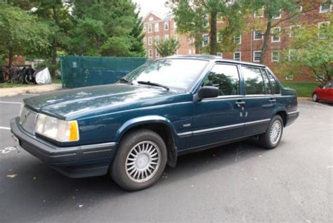 accident recorder 1992 volvo 940 engine control find used 1992 volvo 940 gle sedan 4 door 2 3l much loved and kept that way in washington
