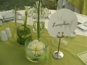 theme pour mariage deco table mariage zen nature