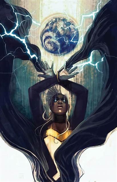 Marvel Female Storm Superhero Comic Comics Ororo