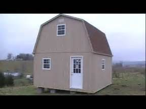 2 story barn cabin shed youtube