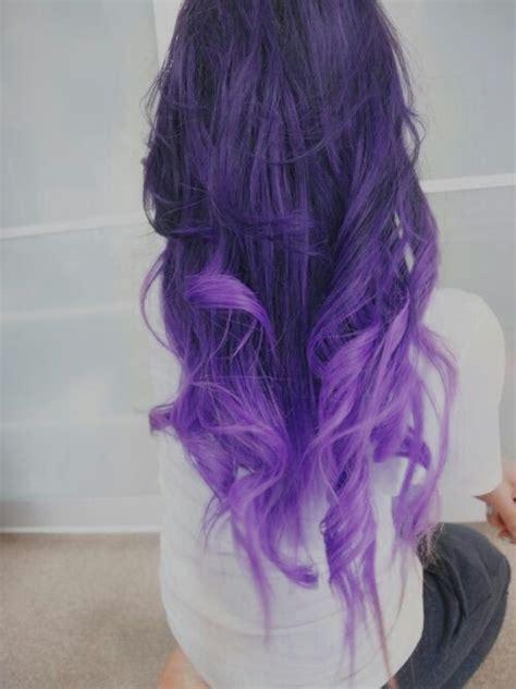 Fading Purple Hair Pinterest