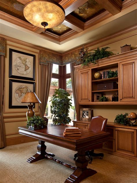 19 dramatic masculine home office design ideas