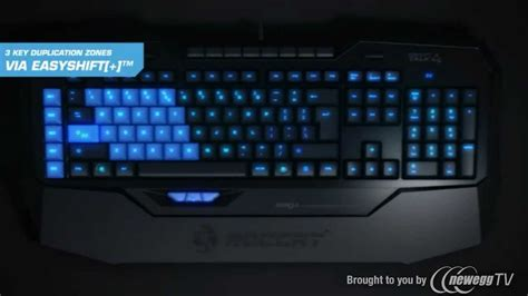 product tour roccat isku roc 12 701 black usb wired gaming keyboard