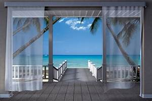 fototapete tapete wallpaper motiv karibik terasse mit With balkon teppich mit komar tapeten