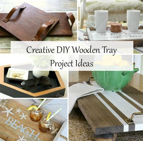 diy tray ideas easy projects  repurposed life