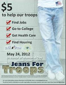 Be the next employer to participate in the 3rd Annual u0026quot;Jeans for Troopsu0026quot; Fundraising Drive this ...