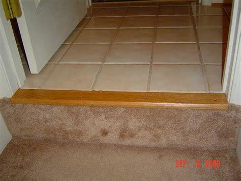 oak carpet trim woodbin