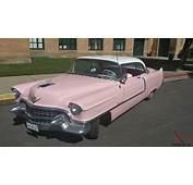PINK 1955 Cadillac Coupe Deville
