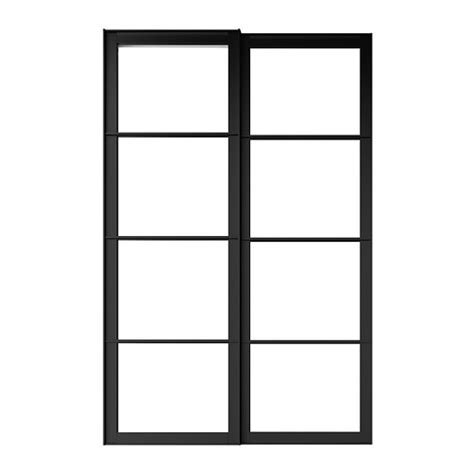 pax pair of sliding door frames rail 59x92 7 8 quot ikea