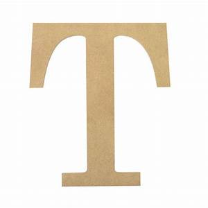 10quot decorative wood letter t ab2044 mardigrasoutletcom for Decorative letter t