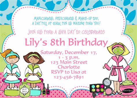 birthday party invitation wording dolanpedia