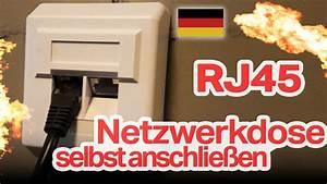 Lan Kabel Belegung : rj45 netzwerkdose selbst anschlie en diy deutsch german ~ A.2002-acura-tl-radio.info Haus und Dekorationen