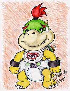 Diapered Bowser Jr by shimiri on DeviantArt