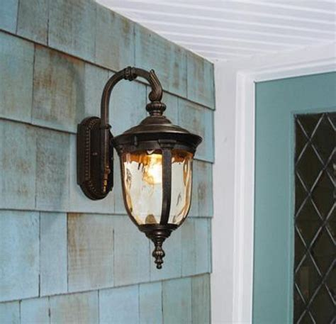 lighting design ideas wrought iron outdoor light