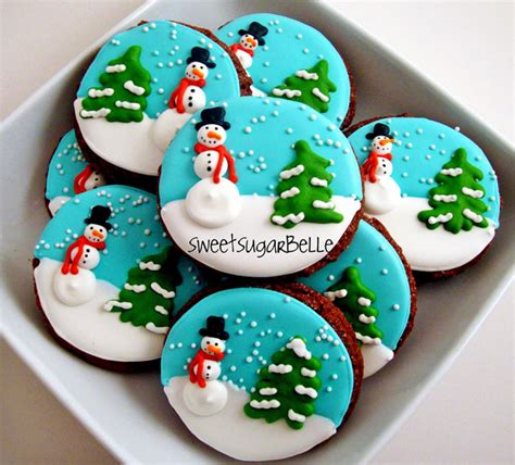christmas sugar cookie designs decorated holiday sugar cookies recipe dishmaps