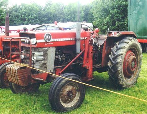 Massey Ferguson Mf 165 Diesel Tractor 1964