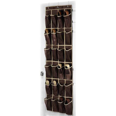 door shoe holder 24 pocket shoe hanger home the door hanging organizer