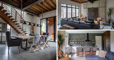 Painters Studio Turned Modern Loft by This New House In Florida Has A Contemporary Interior With