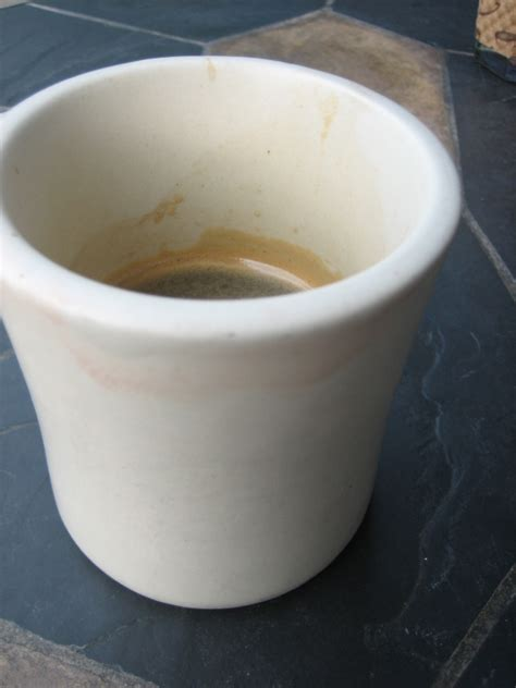 Coffee tastes best when it is brewed from room temperature grounds. St. Paul's Two Worst Cups of Coffee - Heavy Table