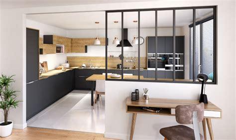 cuisine verriere atelier emejing maison cuisine ouverte verriere contemporary