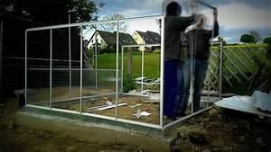Gewächshaus Aufbauen Fundament : gew chshaus aufbau youtube ~ A.2002-acura-tl-radio.info Haus und Dekorationen