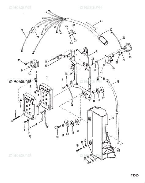 mercury mercury mariner outboard parts by hp liter 150hp oem parts diagram for wiring