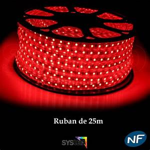 Ruban Led Rouge : ruban led 50 m tres rouge top 24h ~ Edinachiropracticcenter.com Idées de Décoration