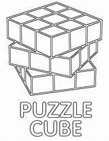 Cube Coloring Cube11 sketch template