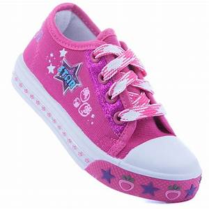 Toddler Canvas Tennis Shoes Casual Lace Up Sneaker Girls ...