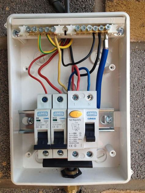 Electrical Fuse Box Regulation by Image Result For How To Wire Garage Fuse Box Electrical Wire