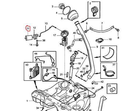 Volvo Fuel System Diagram Auto Parts