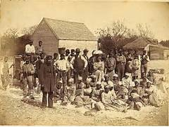 Slavery In The South 1800s Slaves of the rebel general  Slavery In The South