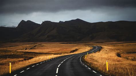 Wallpaper Iceland 4k 5k Wallpaper Road Mountains