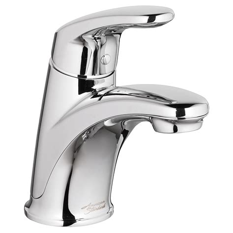 One Sink With Two Faucets by Colony Pro Single Handle Bathroom Faucet American Standard