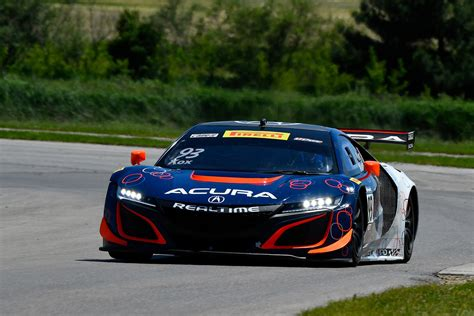 first laps acura nsx gt3 auto breaking news