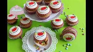 Cupcakes Mit Füllung : clown cupcakes f r karneval mit haselnusscreme und ~ Watch28wear.com Haus und Dekorationen
