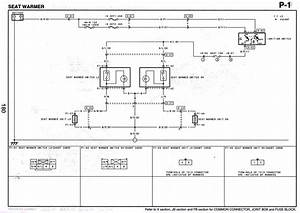 2003 Mazda 6 Heated Seat Wiring Diagram
