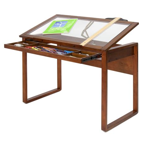 studio designs sewing table studio designs ponderosa 42 quot w x 24 quot d drafting table