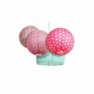 Suspension Boule Japonaise : boule japonaise rose en papier de riz atw ~ Voncanada.com Idées de Décoration