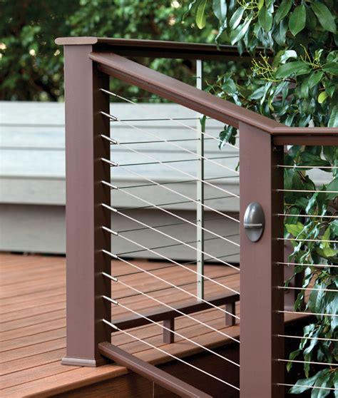 deck railing composite aluminum deck railing
