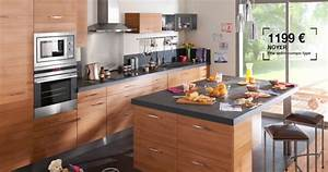 quelle peinture pour ma cuisine ouverte sur salon sejour With meuble de salle a manger avec devis cuisine Équipée