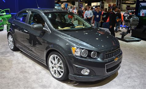 Chevy Sonic Ground Clearance by Chevrolet Sonic Dusk Tries For Class Gets Ground Effects