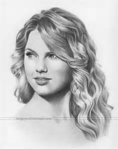 Portrait Of Taylor Swift By Red2207 On Stars Portraits  12