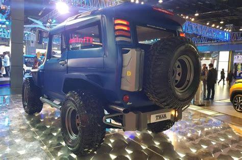 Mahindra Thar Wanderlust Custom Off-roader Revealed At The