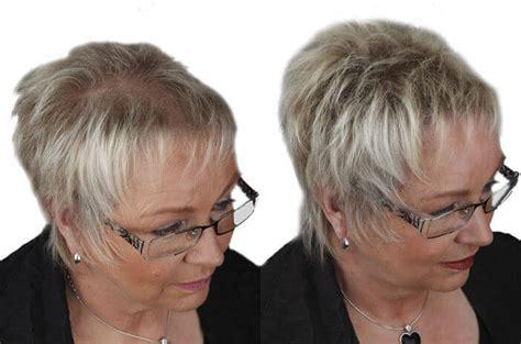 Kurzhaarfrisuren Für Feines Haar Ab 50 Lange Gesichter Haarschnitt