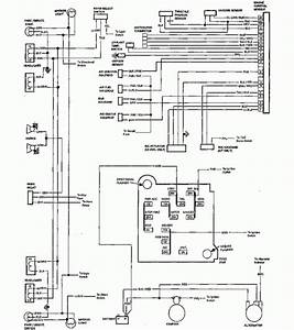 1985 Chevrolet El Camino Wiring Diagram Part 2  61792
